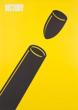 Shigeo Fukuda, Victory, 1976. Collection Stedelijk Museum, Amsterdam