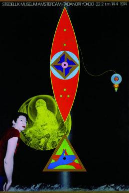 Tadanori Yokoo e Will van Sambeek, Tadanori Yokoo, 1974. Collection Stedelijk Museum, Amsterdam