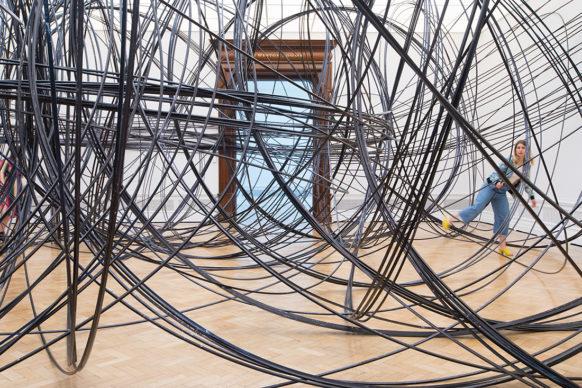 "Antony Gormley, Clearing VII, 2019. Vista della mostra ""Antony Gormley"", Royal Academy of Arts, Londra, dal 21 settembre al 3 dicembre 2019 © the Artist. Photo David Parry / © Royal Academy of Arts"