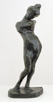 Henri Matisse, Madeleine I, 1901, bronzo, 54,6 x 19,4 x 17,2 cm. San Francisco Museum of Modern Art, Bequest of Harriet Lane Levy. Photo Ben Blackwell © Succession Henri Matisse/ 2019 ProLitteris, Zurich
