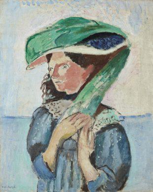 Henri Matisse, Margot, 1906, olio su tela, 81 x 65 cm. Kunsthaus Zürich, 1925 © Succession Henri Matisse/ 2019 ProLitteris, Zurich