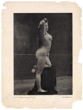 «Accorciamento della gamba (visto da dietro)», in: Mes Modèles, data presunta 20.11.1906, tav. 671. Archives Henri Matisse, Issy-les-Moulineaux