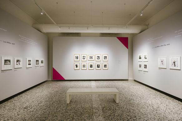 """Vista dell'allestimento della mostra """"wo/MAN RAY"""", CAMERA – Centro Italiano per la Fotografia, Torino. Foto di Andrea Guermani"""