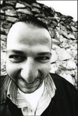 JR, 28 Millimètres, Face 2 Face, Jimmy, Taxi Driver, 2007. Gelatin silver photograph. © JR-ART.NET