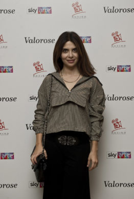 """Sky Arte, Evento """"Valorose"""": Claudia Potenza. Photo Alessandro Pizzi"""