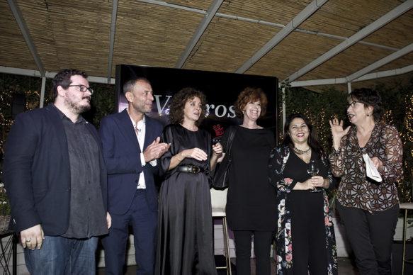"""Sky Arte, Evento """"Valorose"""": Dallavalle, Cotroneo, Golino, De Rossi, Murgia e Dandini. Photo Alessandro Pizzi"""