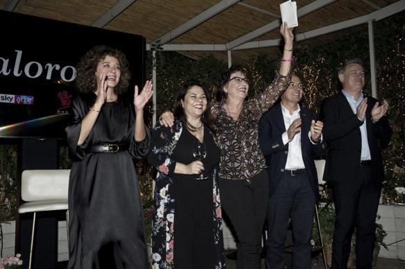 """Sky Arte, Evento """"Valorose"""": Dandini, Gavaudan,  Pisoni, Murgia e Golino. Photo Alessandro Pizzi"""