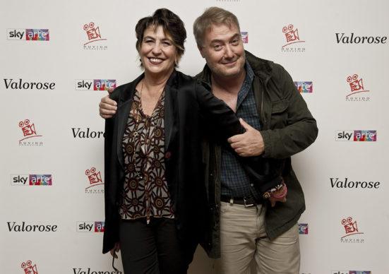 """Sky Arte, Evento """"Valorose"""": Serena Dandini e Corrado Guzzanti. Photo Alessandro Pizzi"""
