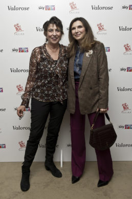 """Sky Arte, Evento """"Valorose"""": Serena Dandini e Maria Pia Calzone. Photo Alessandro Pizzi"""