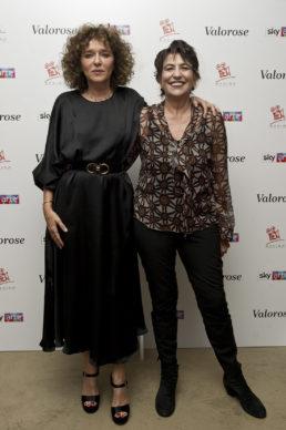 "Sky Arte, Evento ""Valorose"":  Valeria Golino e Serena Dandini. Photo Alessandro Pizzi"