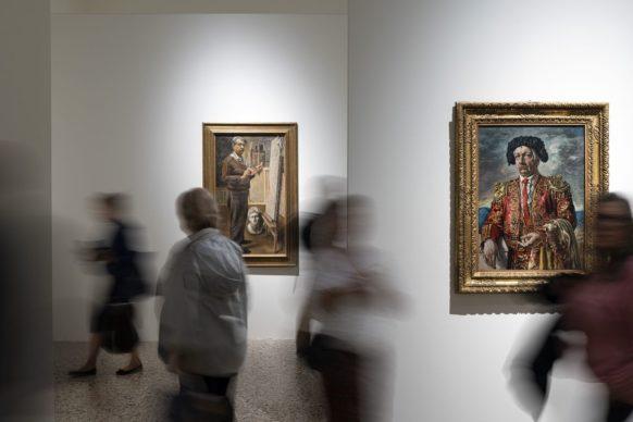 de Chirico, exhibition view at Palazzo Reale, Milano 2019, photo Lorenzo Palmieri