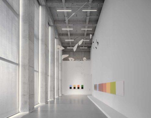 David Chipperfield Architects, West Bund Museum Shanghai. Upper gallery © Simon Menges