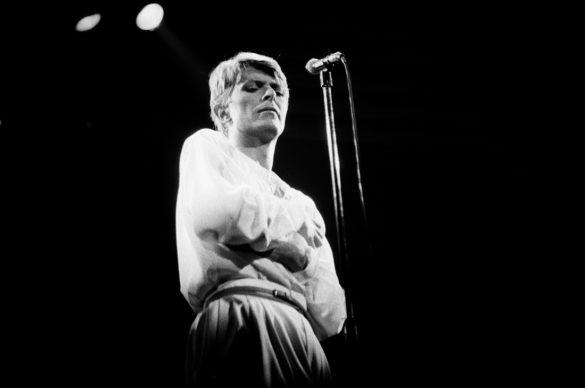 Bowie live, 1978 © Esther Friedman 2019