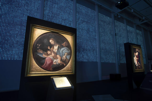 Allestimento mostra U.MANO, Fondazione Golinelli, Bologna