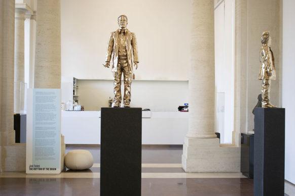 Jan Fabre, De Blikopener a Palazzo Merulana. Photo credits CoopCulture per Palazzo Merulana