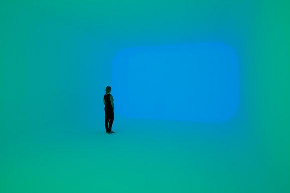 James Turrell, Apani, 2011, from the Ganzfeld series © James Turrell. Photo: Florian Holzherr