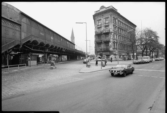 Gorlitzer Bahnhof, 1978 © Esther Friedman 2019