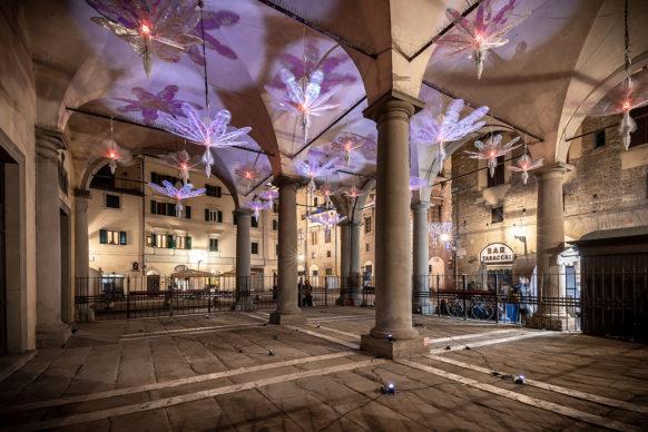 Firenze, Loggia del Grano: F-Light - Firenze Light Festival 2019 © Nicola Neri