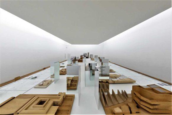 """Vista dell'allestimento della mostra """"Álvaro Siza: in/discipline"""" - Serralves Museum of Contemporary Art, Porto © 2019 Photo by Raul Betti - All rights reserved"""