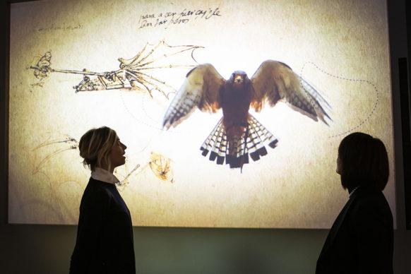 Nuove Gallerie Leonardo – Museo Nazionale della Scienza e della Tecnologia Leonardo da Vinci, Milano. Photo © Lorenza Daverio