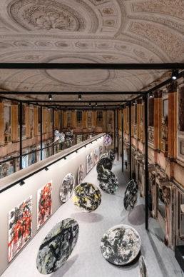 Emilio Vedova a Palazzo Reale © Marco Cappelletti per Alvisi Kirimoto