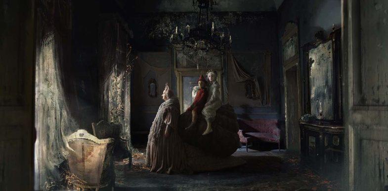 Fatina, Lumaca e Pinocchio. Foto di scena di Greta De Lazzaris