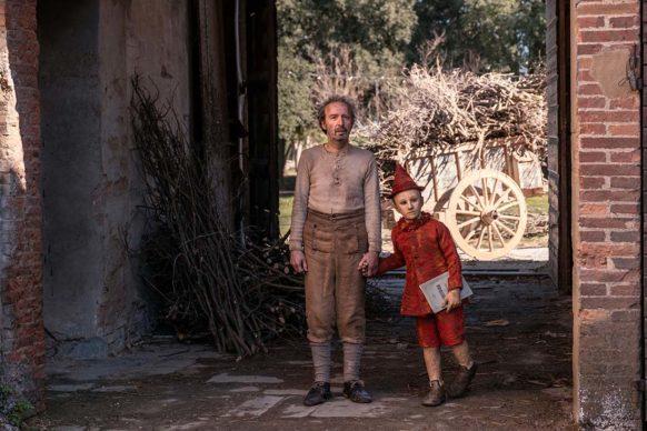 Pinocchio e Geppetto. Foto di scena di Greta De Lazzaris
