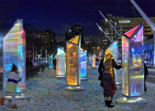 Luminothérapie, Montréal, Canada - Prismatica, by RAW Design, in collaboration with ATOMIC3. Photo credit James Brittain
