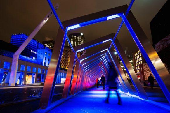 Luminothérapie, Montréal, Canada - Iceberg, by ATOMIC3 and Appareil Architecture. Photo credit Martine Doyon