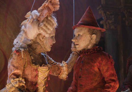 Pinocchio e Colombina. Foto di scena di Greta De Lazzaris