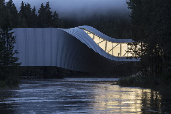 Overall winner - The Twist Museum, Kistefos Sculpture Park, Jevnaker, Norway. Photo credit Laurian Ghinitoiu / APA19 / Sto
