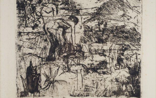 Luigi Bartolini, Donne nel Passirio, 1937, courtesy Le Gallerie degli Uffizi