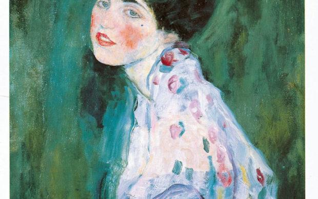 Gustav Klimt, Ritratto di signora, 1916-17, via Artribune