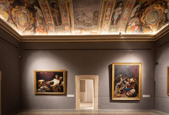 Roma, Palazzo Barberini – Sale Ala Nord. Photo: Alberto Novelli