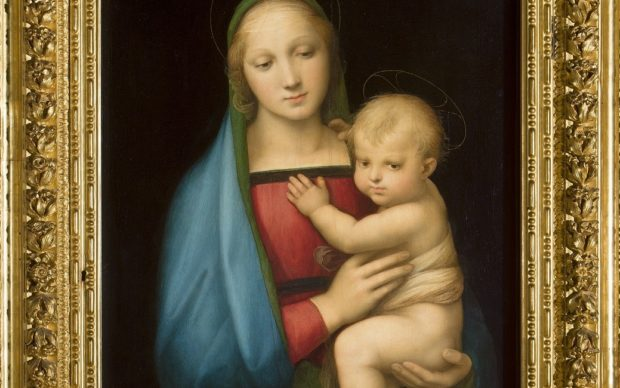 Raffaello, Madonna del Granduca, courtesy Gallerie degli Uffizi