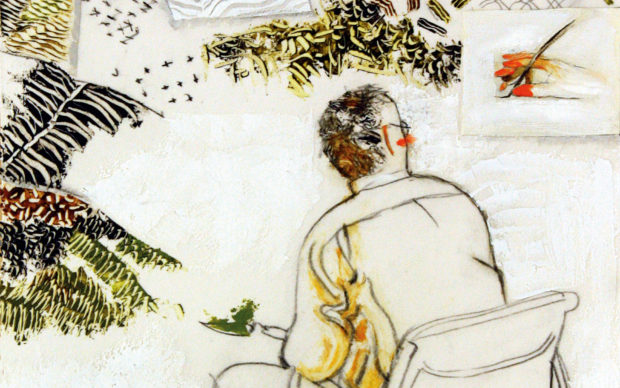 Tullio Pericoli, Forme del paesaggio. 1970-2018, Quodlibet 2019, dettaglio della copertina