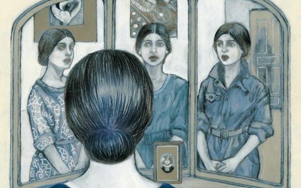 Cinzia Ghigliano, Lo specchio di Tina, Contrasto 2019, dettaglio della copertina