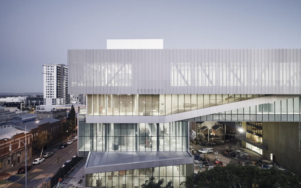New Museum for Western Australia, Perth © Peter Bennetts, courtesy of Hassell + OMA