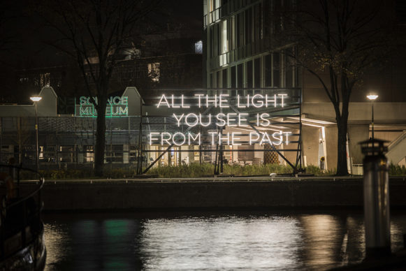 All the Light You See By Alicia Eggert. Amsterdam Light Festival 2019. Photo Copyright Janus van den Eijnden
