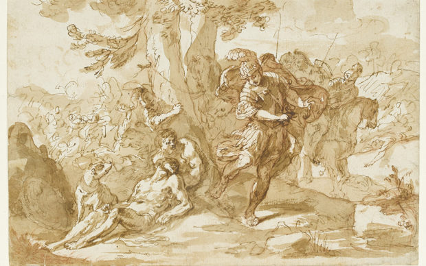 Sebastiano Ricci, Death of Darius,
