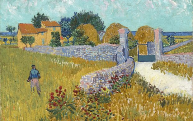 Vincent van Gogh, Farmhouse in Provence, 1888. Oil on canvas, 46.1 x 60.90 cm. National Gallery of Art, Washington © National Gallery of Art, Washington, Alisa Mellon Bruce Collection, 1970.34