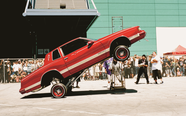 Lowrider Convention in Los Angeles © 2019 Nathanael Turner