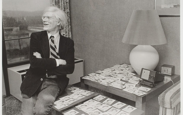 Rowland Scherman, Andy Warhol aside Polaroids of Caroline Ireland, about 1979; printed 2008, digital inkjet print, Gift of Howard G. Davis, III A.K.A. David Davis, 2011.162. © Rowland Scherman.