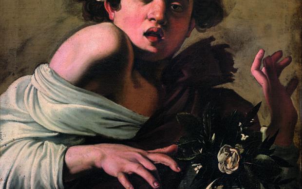 Michelangelo Merisi da Caravaggio, Boy Bitten by a Lizard c. 1597/98 , Florence, Fondazione di Studi di Storia dell'Arte Roberto Longhi