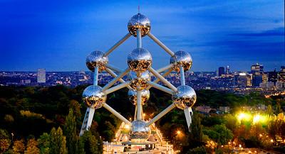 Atomium, Bruxelles. (c) www.atomium.be - SOFAM 2018 - alexandrelaurent.com / Gaëtan Miclotte. Foto flickr.com/photos/visitflanders