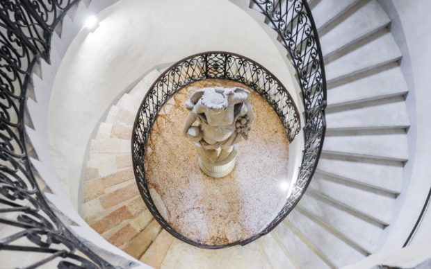 Lo scalone elicoidale di Palazzo Maffei, Verona