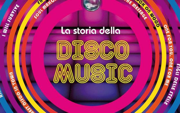 La storia della disco music, Hoepli, dettaglio della copertina