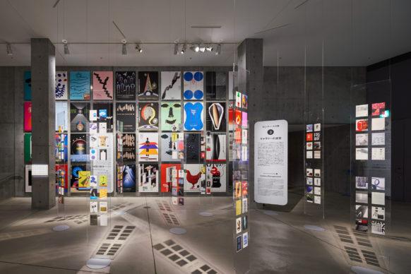 "Vista dell'allestimento della mostra ""Secret Source of Inspiration: Designers' Hidden Sketches and Mockup"" ‒ Lobby. Photo Masaya Yoshimura"