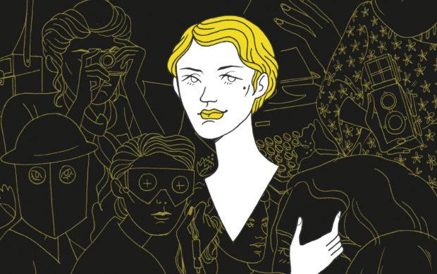 Eleonora Antonioni, Trame Libere, Sinnos Editrice 2019, dettaglio della copertina