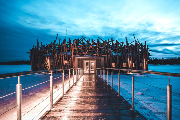 Arctic Bath, Harads, Svezia. Photo credit: Daniel Holmgren
